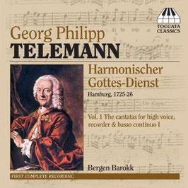 Georg Philipp Telemann: Harmonischer Gottes-Dienst volume 1 (Toccata)