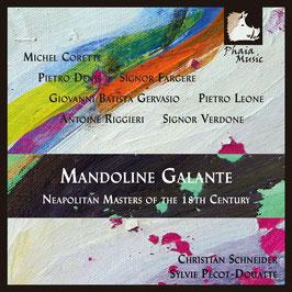 Mandoline Galante, Neapolitan Masters of the 18th Century (Phaia Music)