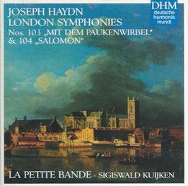 Franz Joseph Haydn: London Symphonies Nos. 103 'Mit dem Paukenwirbel' & 104 'Salomon' (Deutsche Harmonia Mundi)