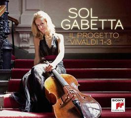 Antonio Vivaldi: Il Progetto Vivaldi 1-3 (3CD, Sony)