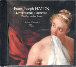 Joseph Haydn: Divertimenti a quattro (Symphonia)
