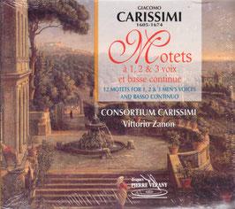 Giacomo Carissimi: Motets à 1, 2 & 3 voix et basse continue (Pierre Verany)