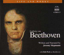 Ludwig van Beethoven: Life and works (4CD, boek, Naxos)