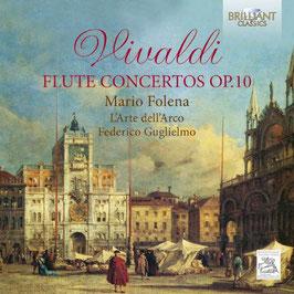 Antonio Vivaldi: Flute Concertos Op. 10 (Brilliant)