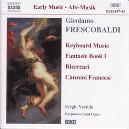 Girolamo Frescobaldi: Keyboard Music, Fantasie Book I, Ricercari, Canzone Francesi (2CD, Naxos)