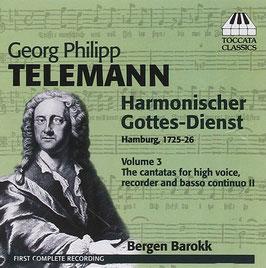 Georg Philipp Telemann: Harmonischer Gottes-Dienst volume 3 (Toccata)