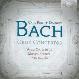 Carl Philipp Emanuel Bach: Oboe Concertos (Brilliant)