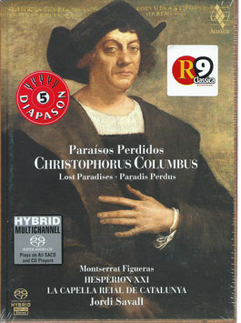 Christophorus Columbus, Paradis Perdus (2SACD, Boek, Alia Vox)