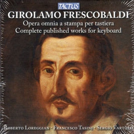 Girolamo Frescobaldi: Opera omnia a stampa per tastiera (12CD, Tactus)