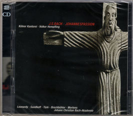 Johann Sebastian Bach: Johannespassion (2CD, Avi)