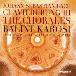 Johann Sebastian Bach: Clavierübung III, The Chorales (2CD, Hungaroton)
