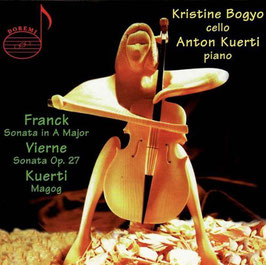 César Franck: Sonate in A Major, Louis Vierne: Sonate Op. 27, Anton Kuerti: Magog (Doremi)