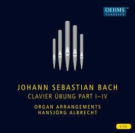 Johann Sebastian Bach: Clavier Übung Part I-IV (6CD, Oehms)