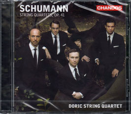 Robert Schumann: String Quartets Op. 41 (Chandos)