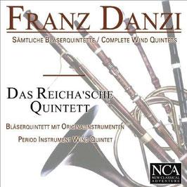 Franz Danzi: Complete Wind Quintets (3CD, NCA)