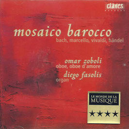 Mosaio barocco: Bach, Marcello, Vivaldi, Handel (Claves)