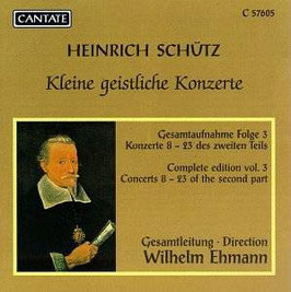 Heinrich Schütz: Kleine geistliche Konzerte (Cantate)