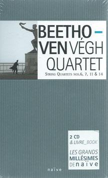 Ludwig van Beethoven: String Quartets Nos. 6, 7, 11 & 14 (Naïve)