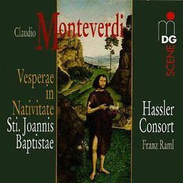 Claudio Monteverdi: Vesperae in Nativitate Sti. Joannis Baptistae (MDG)