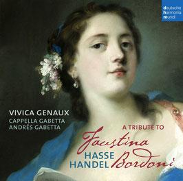 A Tribute to Faustina Bordoni: Hasse, Handel (Deutsche Harmonia Mundi)