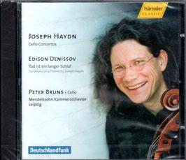 Edison Denissov: Tod ist ein langer Schlaf, Variations on a Theme by Joseph Haydn, Joseph Haydn: Cello Concertos (Hänssler)