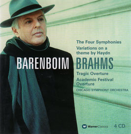Johannes Brahms: The Four Symphonies, Variations on a theme by Haydn, Tragic Overture, Academic Festival Overture (4CD, Warner)