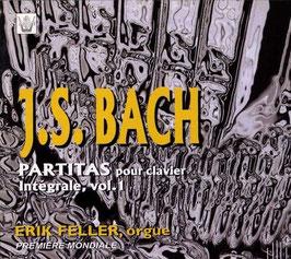 Johann Sebastian Bach: Partitas pour clavier Intégrale, vol. 1 & vol. 2 (2 CD's, Arion)
