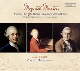 Johann Christian Bach, Giovanni Marco Rutini: Harpsichord concertos & keyboard sonatas, Mozarts Maestri (Accent)