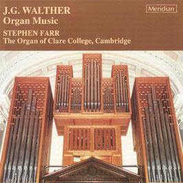 Johann Gottfried Walther: Organ Music (Meridian)