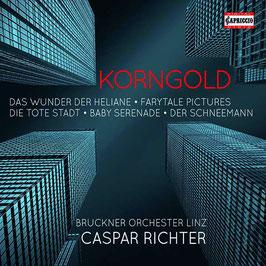 Erich Wolfgang Korngold: Das Wunder der Heliane, Farytale Pictures, Die Tote Stadt, Baby Serenade, Der Schneemann (4CD, Capriccio)