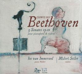 Ludwig van Beethoven: 3 Sonates op. 12 pour pianoforte & violon (ZigZag)