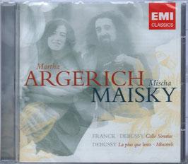 César Franck, Claude Debussy: Cello Sonatas, La plus que lente, Minstrels (EMI)