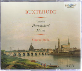 Dieterich Buxtehude: Complete Harpsichord Music (4CD, Brilliant)