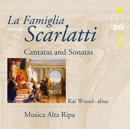 Alessandro Scarlatti, Domenico Scarlatti, Francesco Scarlatti: La Famiglia Scarlatti, Cantatas and Sonatas (MDG)