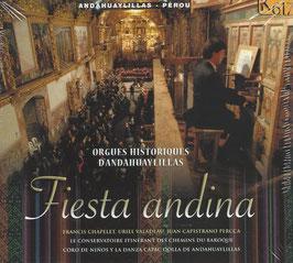 Fiesta andina, Orgues Historiques d'Andahuaylillas, Pérou (K617)