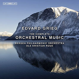 Edvard Grieg: The Orchestral Music (8CD, BIS)