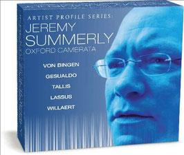 Jeremy Summerly, Artist Profile Series: Adrian Willaert, Orlando di Lasso, Thomas Tallis, Carlo Gesualdo, Hildegard von Bingen (6CD, Naxos)