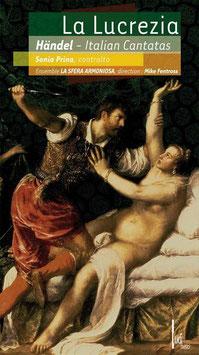Georg Friedrich Händel: La Lucrezia, Italian Cantatas (CD, Boek, Ludi Musici)