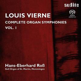 Louis Vierne: Complete Organ Symphonies Vol. 1 (SACD, Audite)
