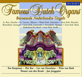 Famous Dutch Organs (10CD, Brilliant)