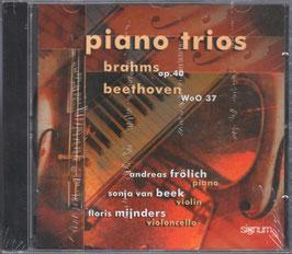 Johannes Brahms, Ludwig van Beethoven: Piano Trios (Signum)