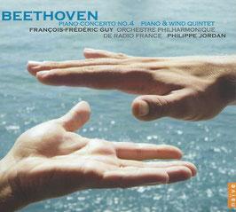 Ludwig van Beethoven: Piano Concerto no. 4, Piano & Wind Quintet (Naïve)