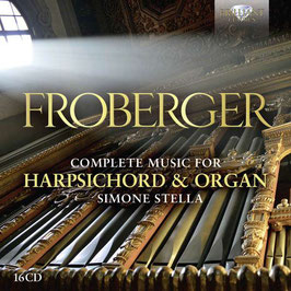Johann Jacob Froberger: Complete Music for Harpsichord and Organ (16CD, Brilliant)