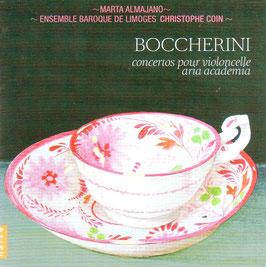 Luigi Boccherini: Concertos pour violoncelle, Aria academia (Naïve)