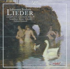 Johannes Brahms: Lieder, Complete Edition Vol. 9 (CPO)
