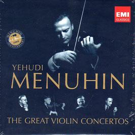 Yehudi Menuhin: The Great Violin Concertos (10CD, EMI)