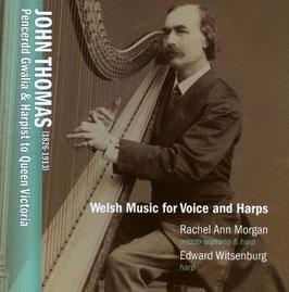 John Thomas: Welsh Music for Voice and Harps (Globe)