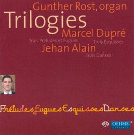 Marcel Dupré, Jehan Alain: Trilogies (SACD, Oehms)