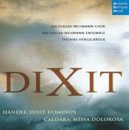 Antonio Caldara: Missa Dolorosa, Handel: Dixit Dominus (Deutsche Harmonia Mundi)