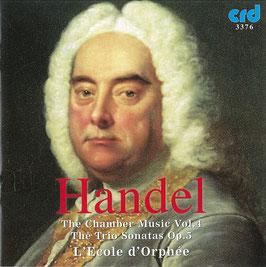 Georg Friedrich Händel: The Trio Sonatas Op. 5 (CRD)